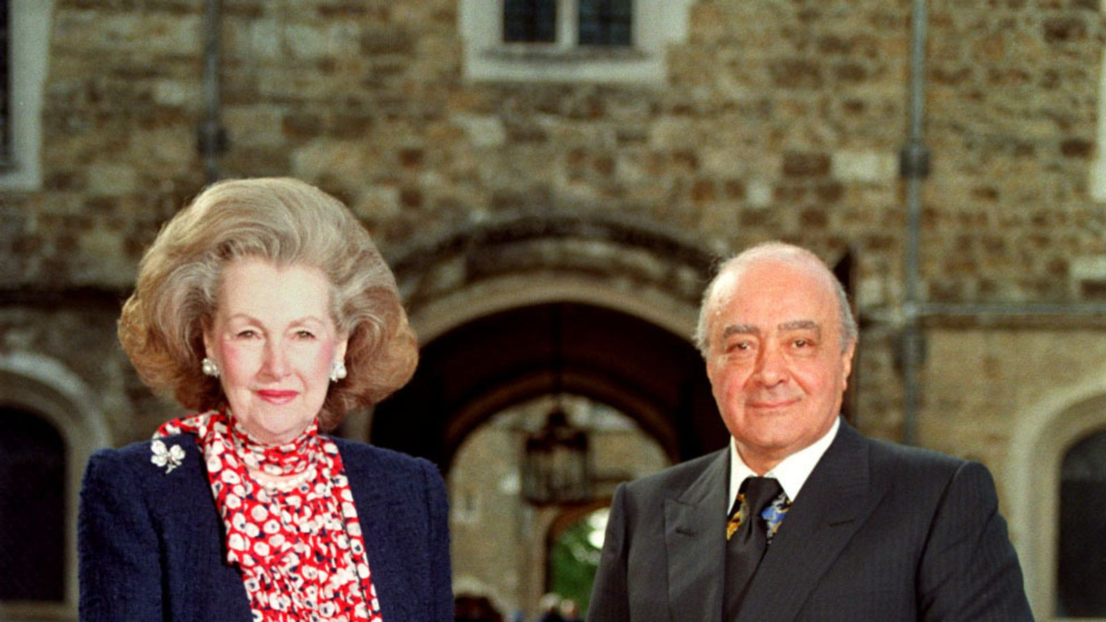 Princess Diana's stepmother Raine Spencer dies, aged 87