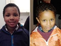 Zachary, eight, and Amon (right), four, the children of EastEnders actress Sian Blake, 43, whose partner Arthur Simpson-Kent has been given a whole life sentence at the Old Bailey in London, for murdering the former EastEnders actress, and their two young sons.