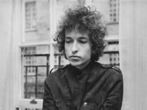 Bob Dylan in London in 1966