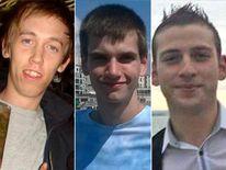 Anthony Walgate, Daniel Whitworth and Jack Taylor