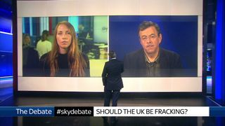 Rose Dickinson and Malcolm Grimston debate the merits of fracking