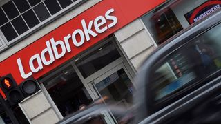 A branch of Ladbrokes in central London
