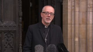 The Bishop of Croydon Jonathan Clark discusses events to unfold as eligible minors from the Calais 'jungle' camp are set to enter the UK.