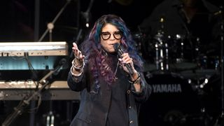 Tyka Nelson, Prince's younger sister, performs