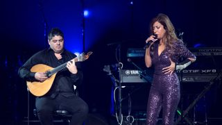 Ana Moura performs