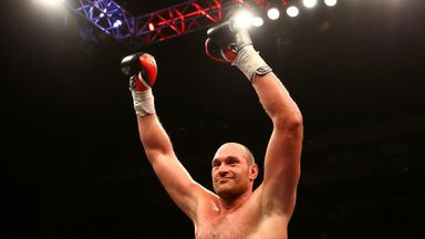 Fury announces 'retirement'