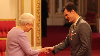 Jamie Murray receives OBE