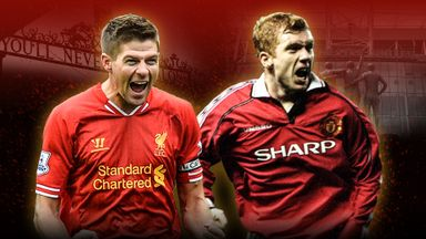 Man Utd v Liverpool: Best PL goals