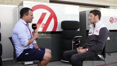 Romain Grosjean speaks to Ted