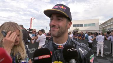 Ricciardo: 2nd place on the cards