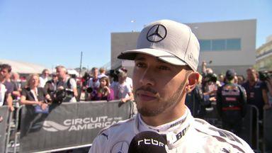 Hamilton secures maiden Austin pole