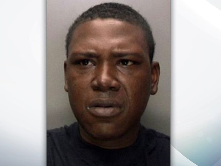 Convicted murderer Lorenzo Simon