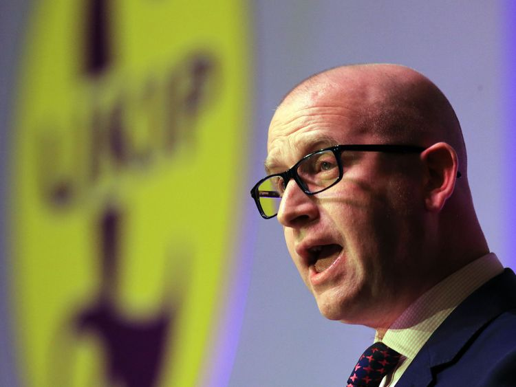 Paul Nuttall is portraying himself as the unity candidate