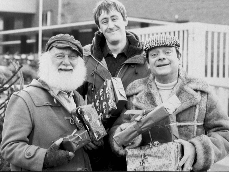 The stars of Only Fools and Horses