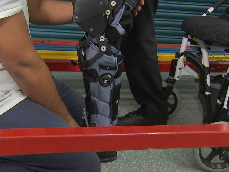 There's been an increase in demand for bionic support for patients