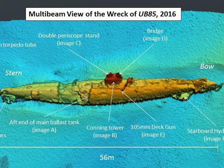 Wreck of UB85