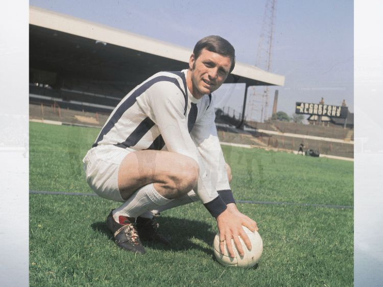 Jeff Astle died of a degenerative brain disease at the age of 59
