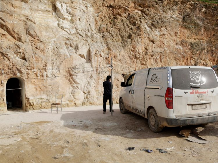 The 'Cave Hospital' was said to be one of the most secure medical centres