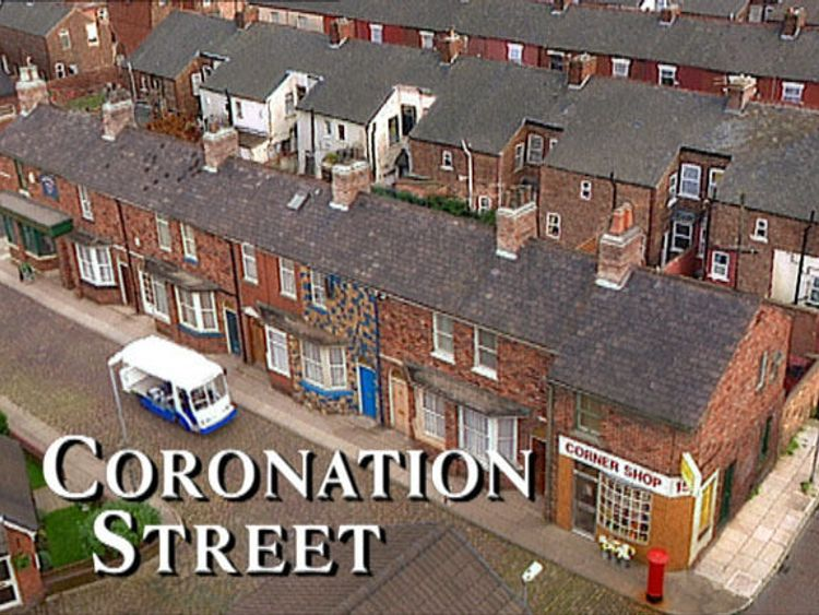 Coronation Street also featured prominently on the chart