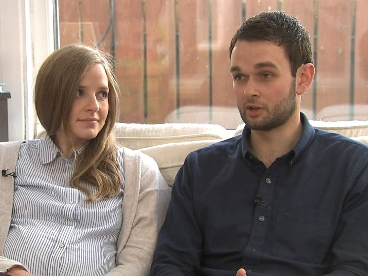 Daniel and Amy McArthur say they have felt 'victimised'