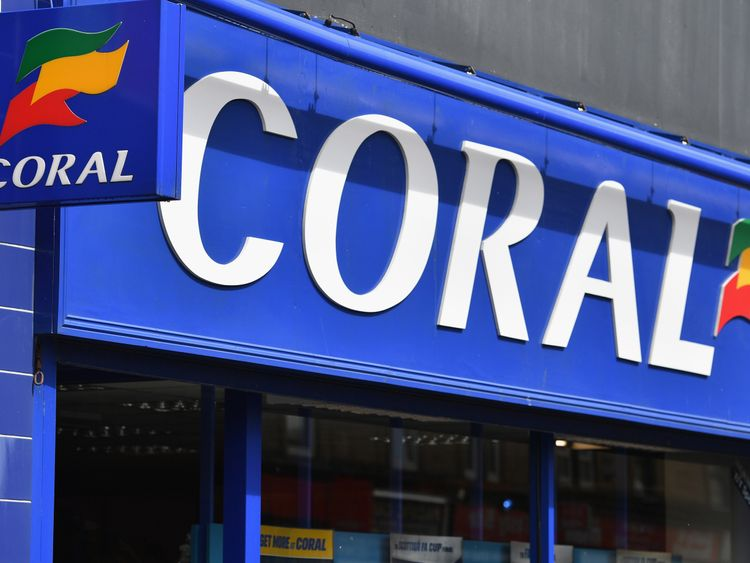 A Coral betting shop in Glasgow