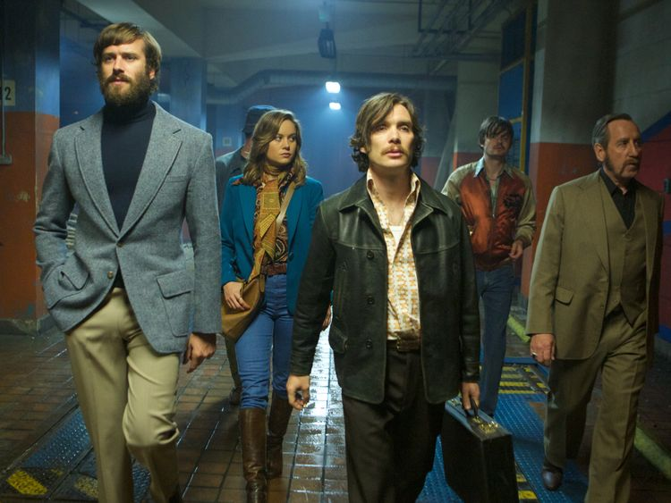 The cast of 'Free Fire' revelled in the chance to wear 1970s outfits and don chest and facial hair