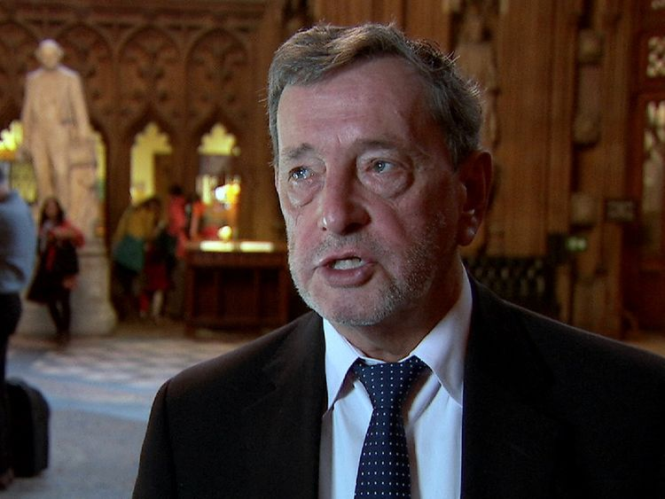 Lord Blunkett was Home Secretary at the time of the 9/11 attacks
