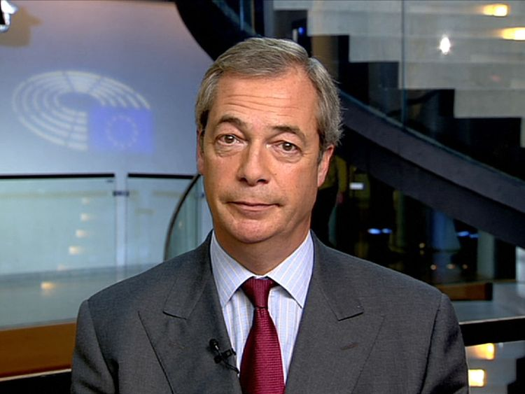 Nigel Farage has ruled himself out of UKIP's leadership contest