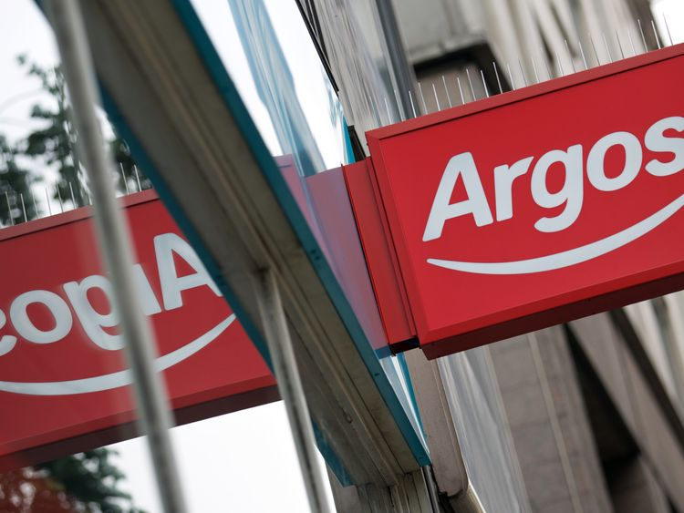 Argos&#39 parent company Home Retail Group was acquired by Sainsbury's in September 2016
