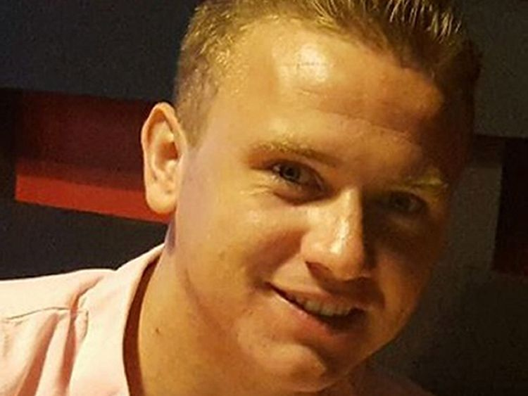 Missing RAF serviceman Corrie McKeague who went missing on 24 September 2016
