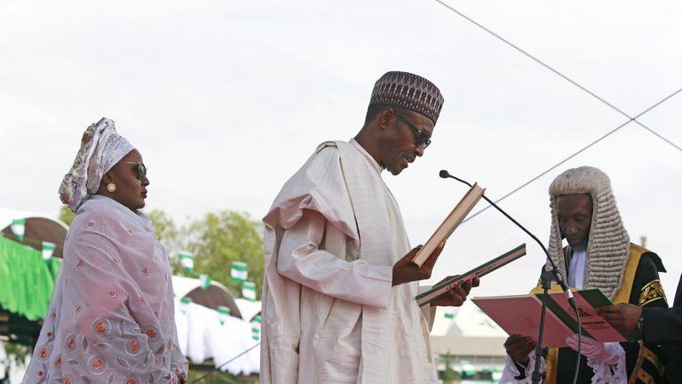 Muhammadu Buhari,  Buhari's wife Aisha