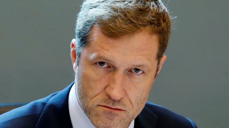 Minister-President of Wallonia Paul Magnette attends a meeting on the Comprehensive Economic and Trade Agreement (CETA)