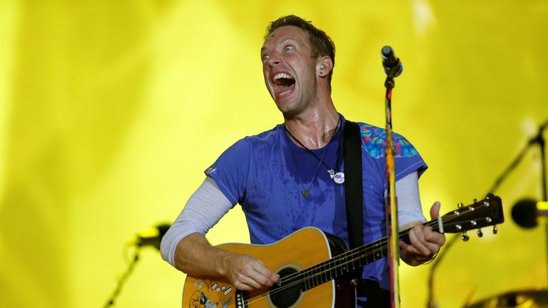 Coldplay's latest A Head Full of Dreams got them the nomination for Best Album