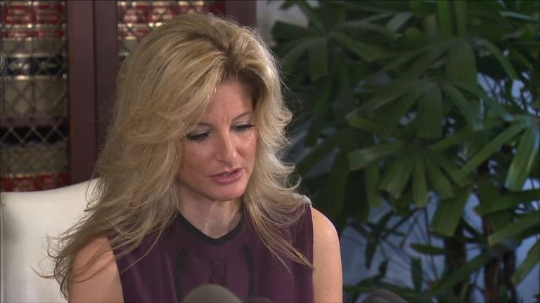 Former Apprentice contestant Summer Zervos accuses Trump of kissing her