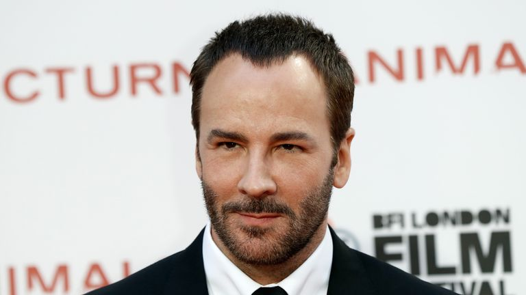 Director Tom Ford attends film premiere