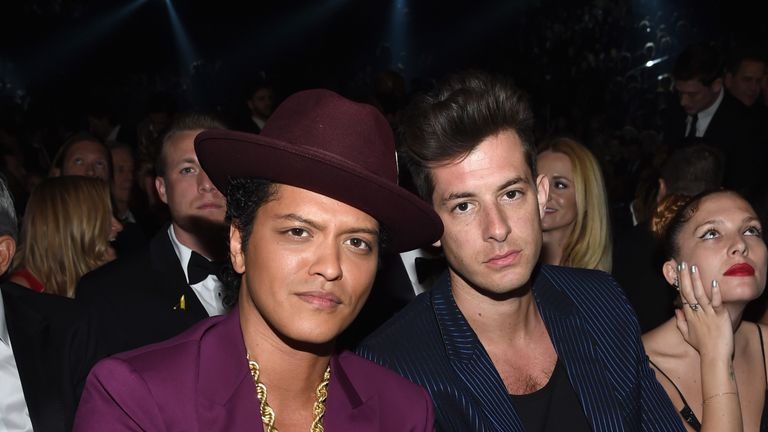Mars and Ronson's Uptown Funk won a Grammy Award in 2014
