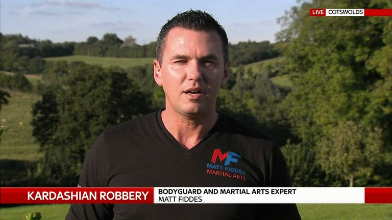 Bodyguard Matt Fiddes