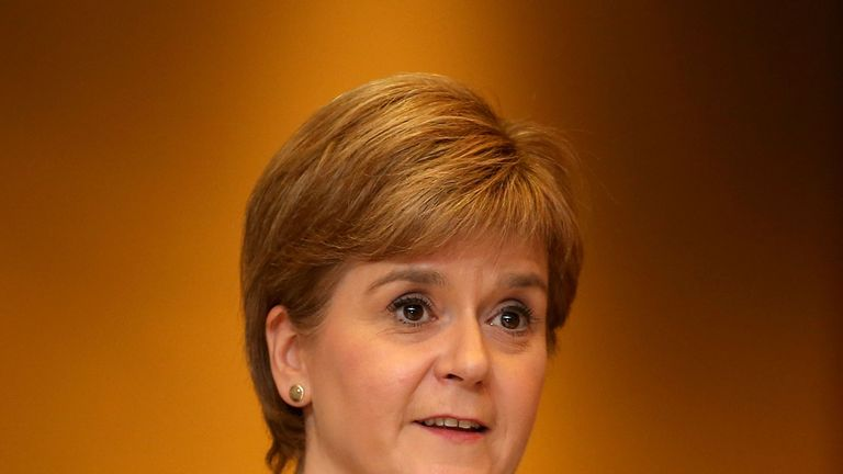 Nicola Sturgeon says her government is preparing 'creative' proposals