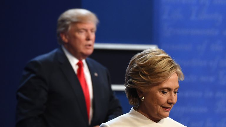 The insults fly in the final presidential debate