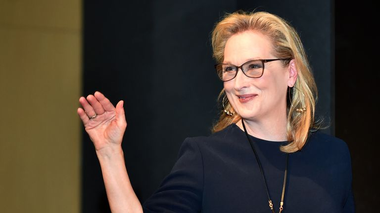 Meryl Streep was in Japan for the launch of her movie Florence Foster Jenkins at the Tokyo International Film Festival