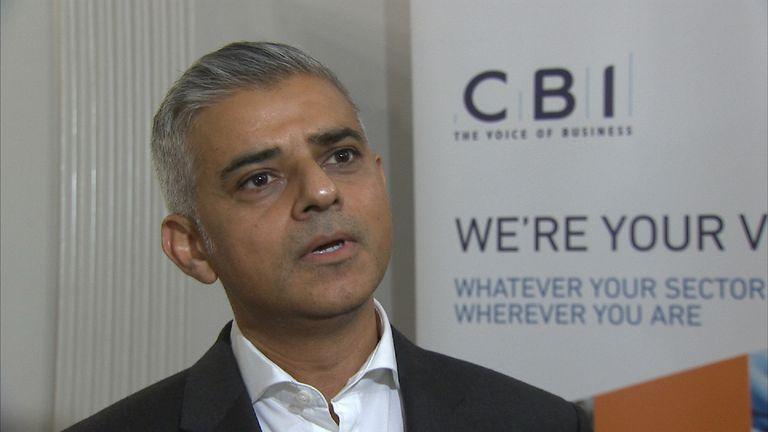 Sadiq Khan talks to Faisal Islam about Brexit