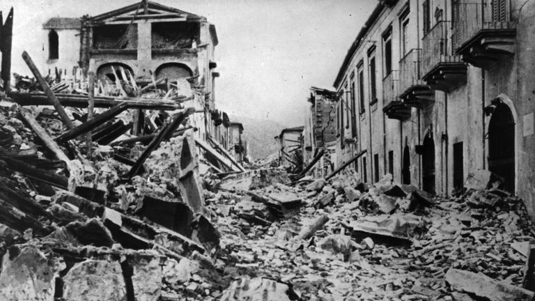 At least 75,000 people died in the 1908 Messina earthquake and subsequent tsunami