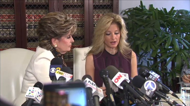 Former 'Apprentice' contestant Summer Zervos claims Donald Trump kissed her 'open-mouthed'