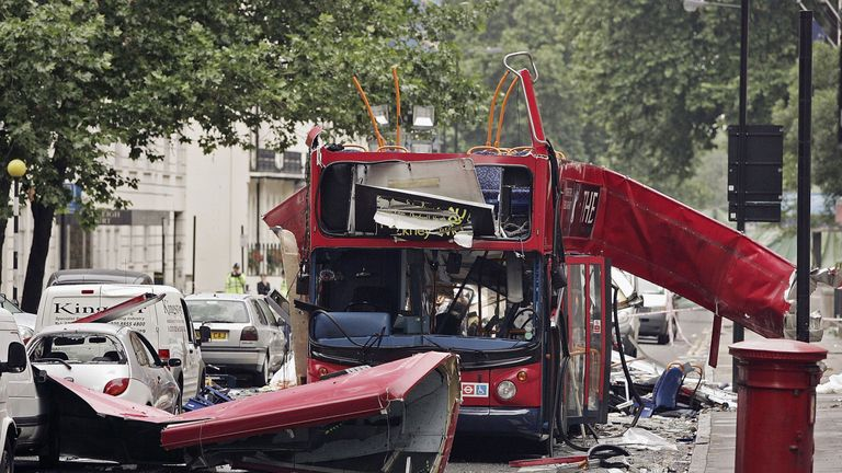 The 7/7 attacks in London killed 52 people