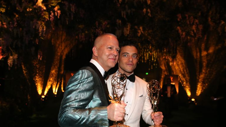Ryan Murphy won the Outstanding Limited Series award for The People v. O.J. Simpson: American Crime Story