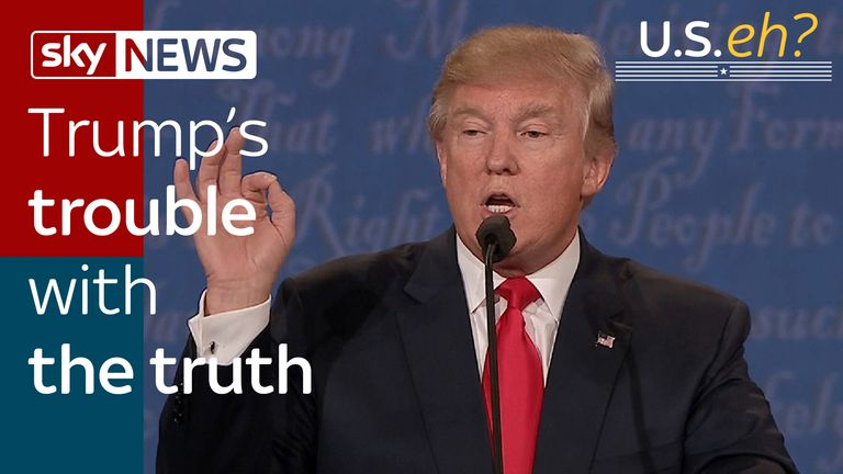 Trump's trouble with the truth