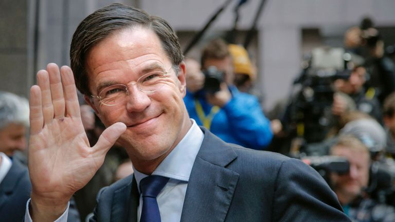 Netherlands Prime Minister Mark Rutte faces a challenge from the Freedom Party in March elections