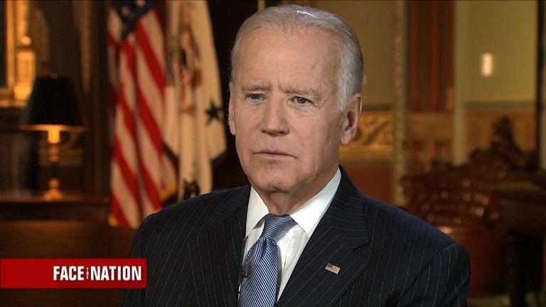 Vice President Joe Biden defends Hillary Clinton