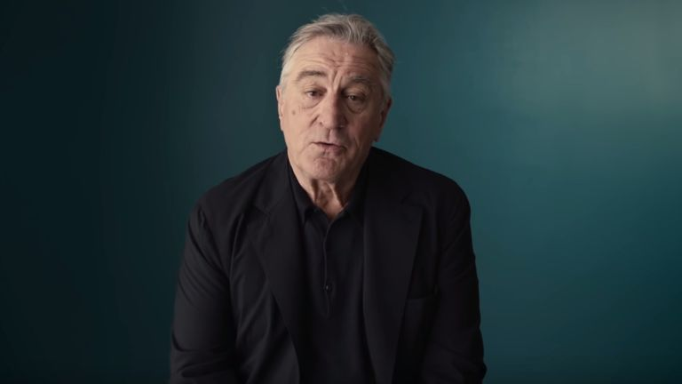 Robert De Niro in still from #voteyourfuture video