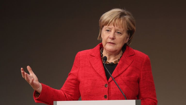 Angela Merkel discusses what could have to the EU after Brexit